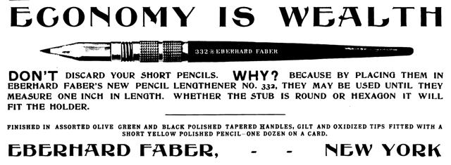Faber 332 Lengthener 1904