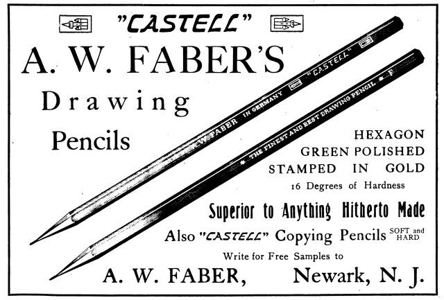 CastellDrawingPencil