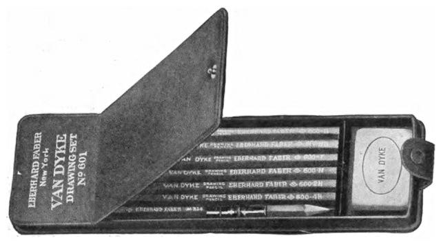 Eberhard Faber Van Dyke Set 1916