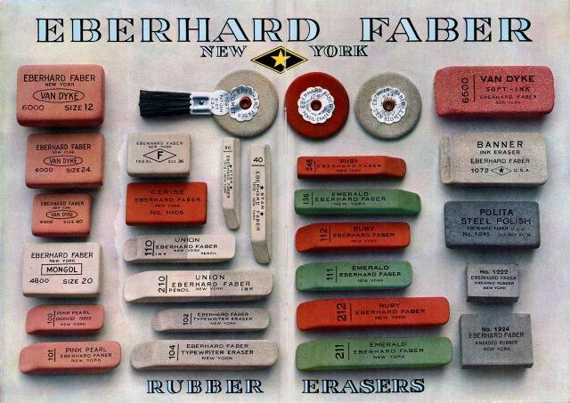 erasers1923