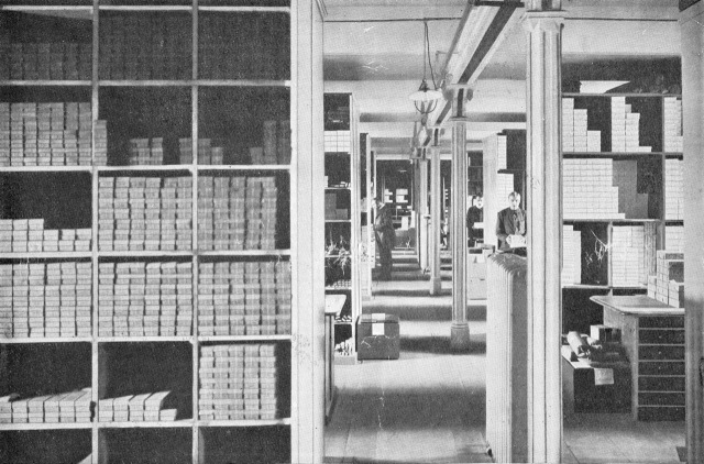 Faber Store Room 1911 B
