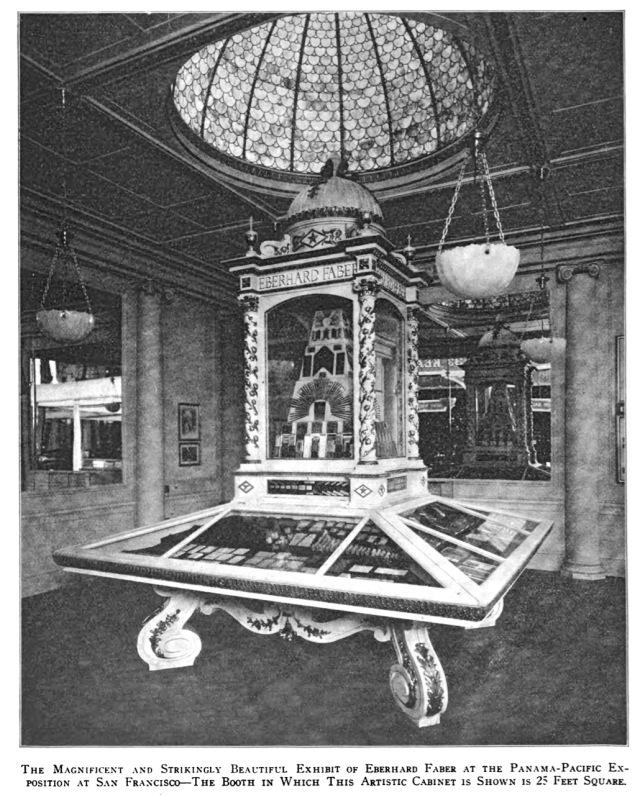 Eberhard Faber Panama Rxhibition Display