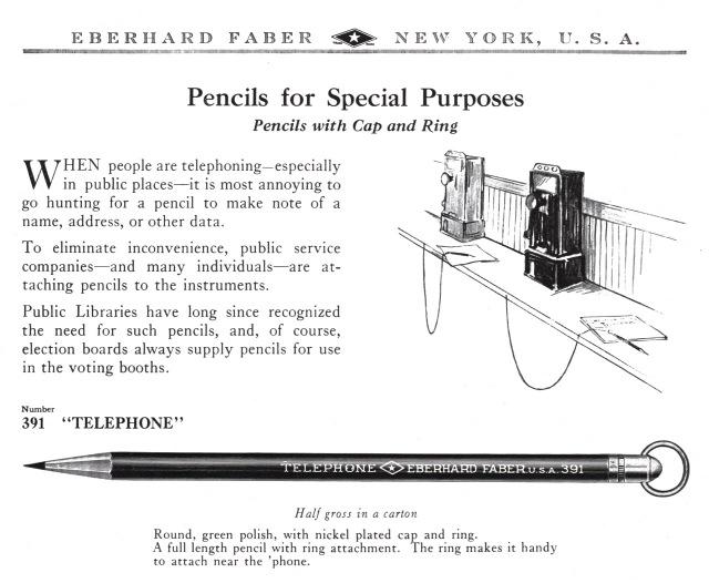 TelephonePencils