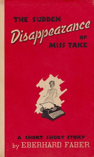 Eberhard Faber Miss Take (Cover)