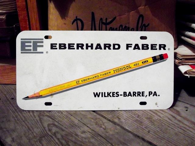 EF License Plate