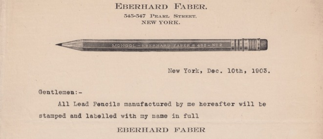 eberhard-faber-letter-about-name-1903