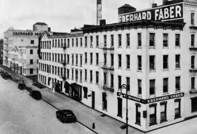 1923 Eberhard Faber Brooklyn Photo From Negative