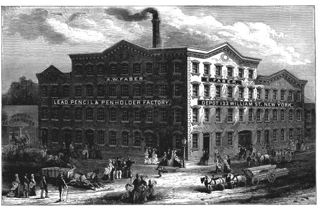 Eberhard Faber Building Original NYC