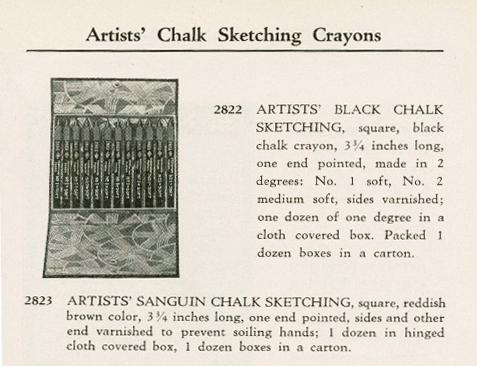1931FaberCrayons